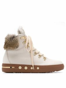 Baldinini laced ankle boots - Neutrals