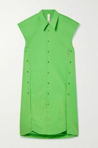 Theory - Gathered Silk-chiffon Blouse - Black