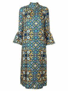 La Doublej Happy Wrist Lungo dress - Blue