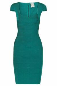 Hervé Léger - Bandage Mini Dress - Emerald