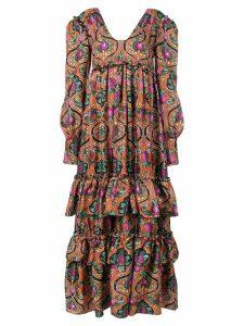 La Doublej Casati dress - ORANGE