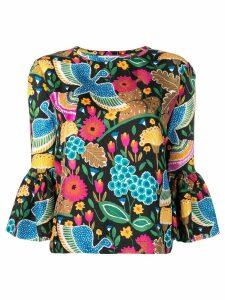 La Doublej Gemini blouse - Black