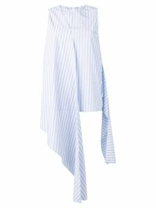 Joseph striped draped sleeveless top - Blue
