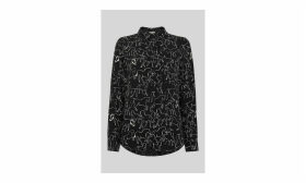 Stallion Print Pocket Shirt