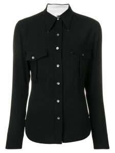 Calvin Klein police pocket shirt - Black