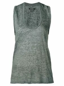 Isabel Marant U-neck tank top - Grey