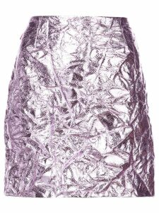 Sies Marjan metallic mini skirt - PINK