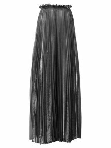 Atu Body Couture pleated palazzo trousers - SILVER