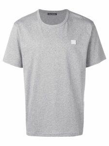 Acne Studios Nash Face T-shirt - Grey