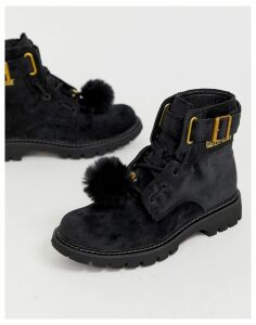 Caterpillar Lace Up Boots