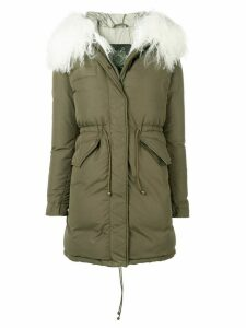 Mr & Mrs Italy fur-trimmed down jacket - Green