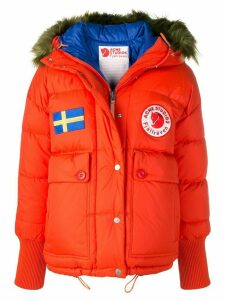 Acne Studios x Fjällräven Reversible down jacket - ORANGE