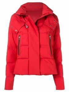 Peuterey short puffer jacket - Red