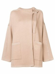 Chloé wrap coat - Neutrals