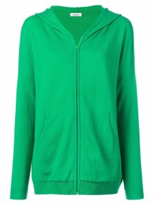 P.A.R.O.S.H. zipped hoodie - Green