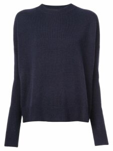 Derek Lam 10 Crosby Mullholland crew neck jumper - Blue