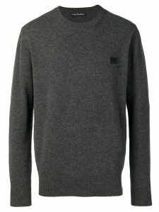 Acne Studios Nalon Face jumper - Grey