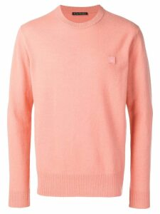 Acne Studios Nalon Face jumper - PINK