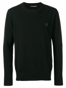 Acne Studios Nalon Face jumper - Black