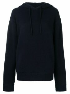 Extreme Cashmere hooded jumper - Blue