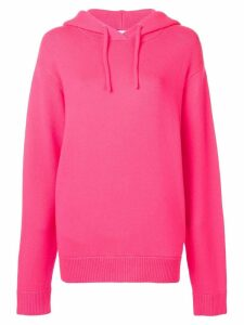 Extreme Cashmere hooded jumper - Pink