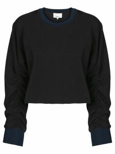 3.1 Phillip Lim Cropped Sweatshirt - Black