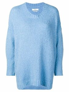 Isabel Marant Étoile loose fit jumper - Blue