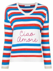 Giada Benincasa striped jumper - White