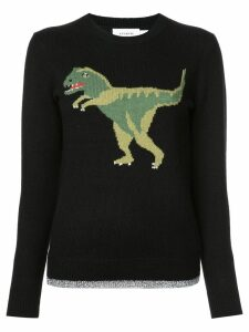 Coach Rexy intarsia jumper - Black