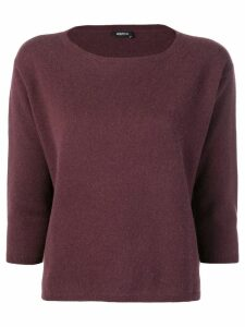 Aspesi cashmere jumper - Red