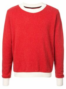 The Elder Statesman Ski Patrol sweater - Red