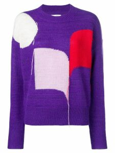 Isabel Marant Étoile colour-block sweater - PURPLE