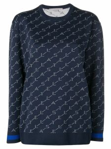 Stella McCartney logo printed sweatshirt - Blue