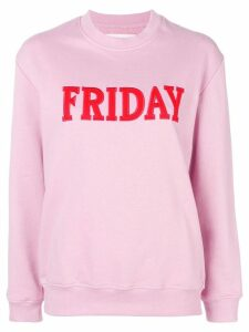 Alberta Ferretti Friday jersey sweater - Pink