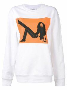 Calvin Klein Jeans Est. 1978 Brooke Shields sweatshirt - White