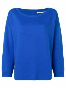 Alice+Olivia round neck sweatshirt - Blue