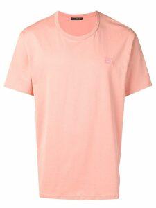 Acne Studios Nash Face T-shirt - PINK