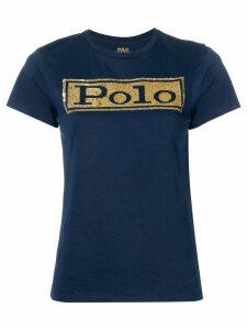 Polo Ralph Lauren sequinned T-shirt - Blue