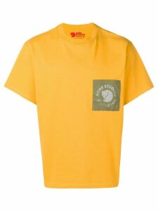 Acne Studios x Fjällräven patch T-shirt - Yellow