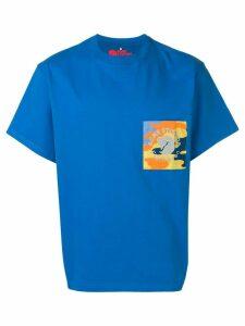Acne Studios x Fjällräven Räv patch T-shirt - Blue
