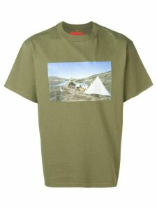 Acne Studios x Fjällräven printed T-shirt - Green