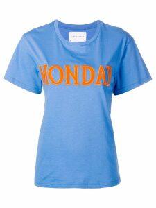 Alberta Ferretti Monday T-shirt - Blue