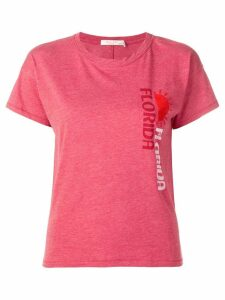 Rag & Bone Florida print T-shirt - Red