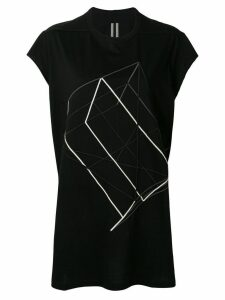 Rick Owens long T-shirt - Black