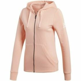 adidas  Essentials Solid FZ  women's Sweatshirt in Pink