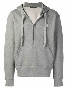Acne Studios Ferris Face zip hoodie - Grey