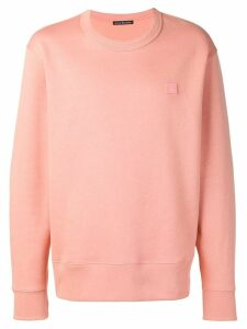Acne Studios Fairview Face sweatshirt - PINK