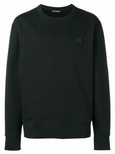 Acne Studios Fairview Face sweatshirt - Black