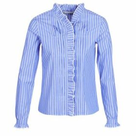 Maison Scotch  LONG SLEEVES SHIRT  women's Shirt in Blue