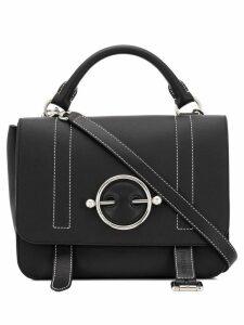 JW Anderson black Disc satchel